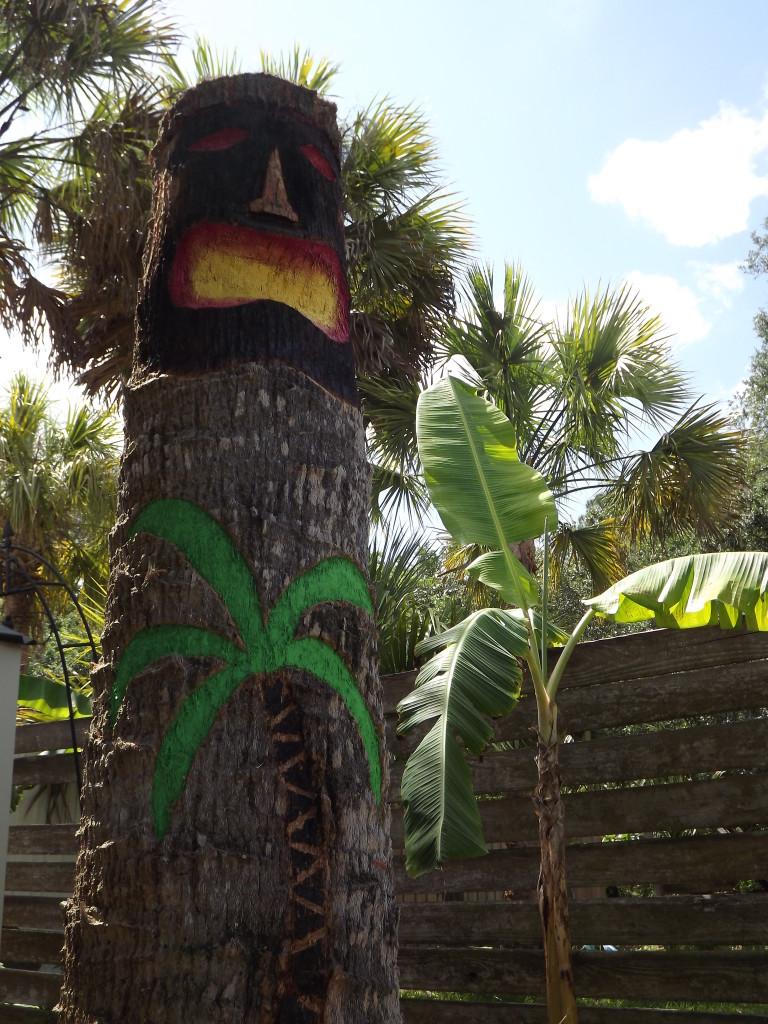 Our Dead Palm Tiki