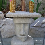 Easter Island Moai Planter with Table Top