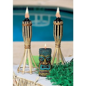 Tiki Tabletop Light Set