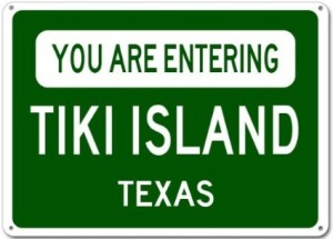 You are entering Tiki Island Texas